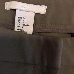 H&M Olive Green dress pants